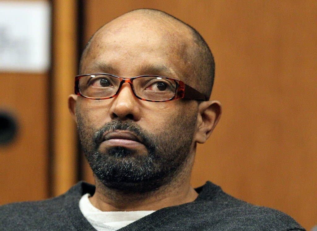 Anthony Sowell looks apprehensive during his trial
