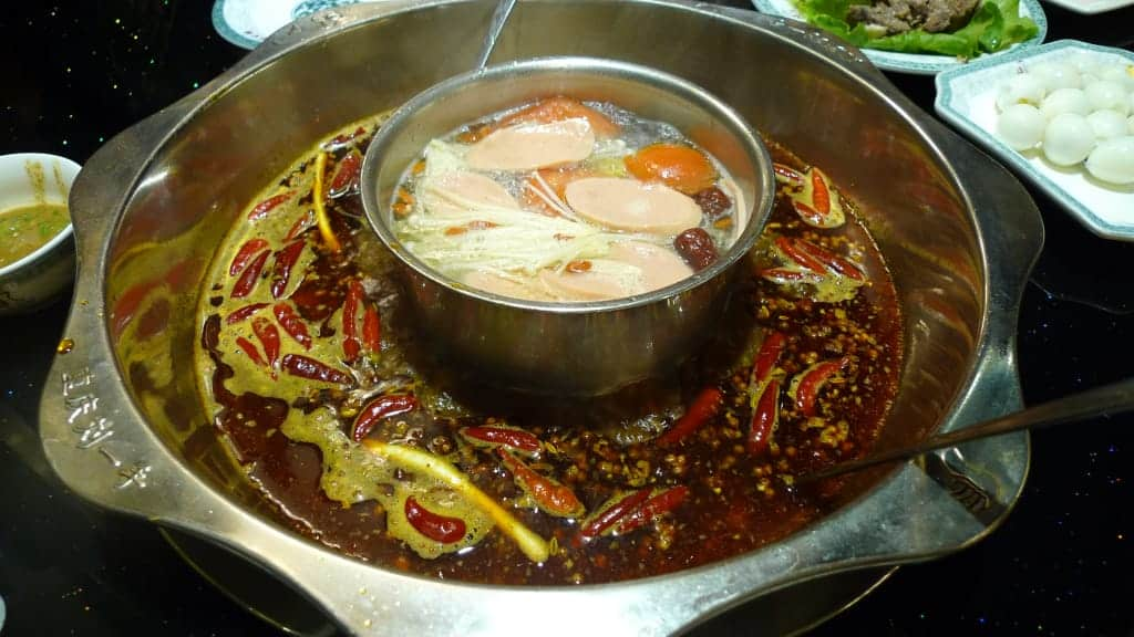 One of the facts about food of China, is that it's sometimes spicy