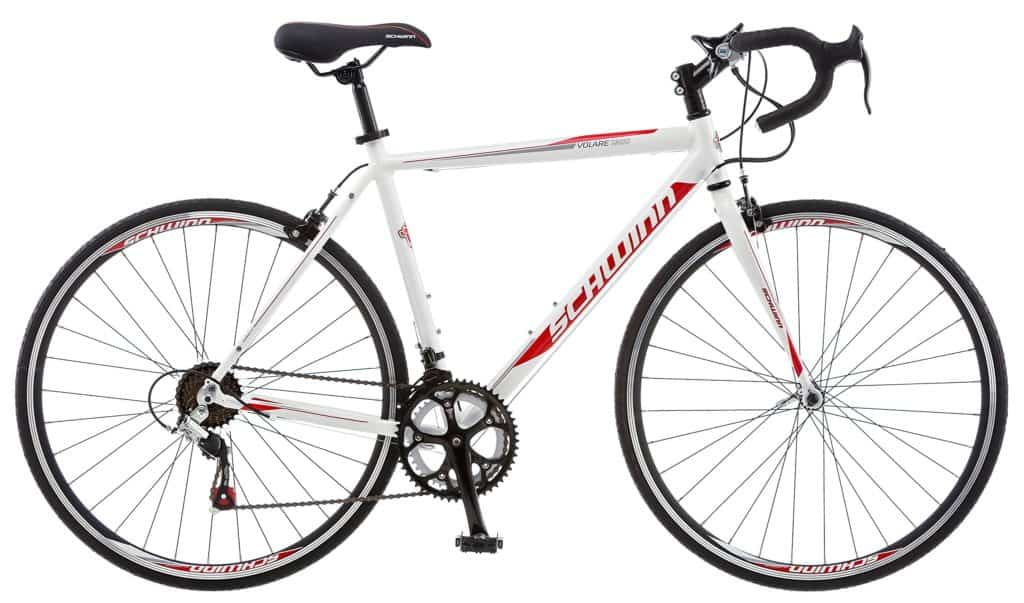 A lightweight, stylish designed Schwinn Volare road bike