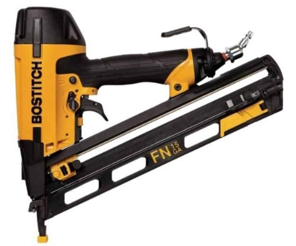 Bostitch N62FNK-2 15-Gauge 1 ¼-Inch to 2-1/2-Inch Angled Finish Nailer