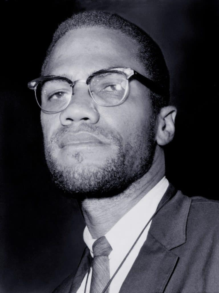 Portrait of Malcolm X. 1964-65.