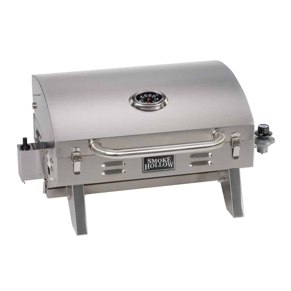Smoke Hollow 205 Stainless Steel Tabletop Gas Grill