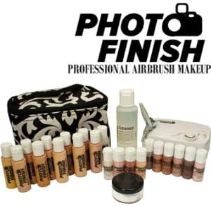 Professional or beginner airbrush makeup kit