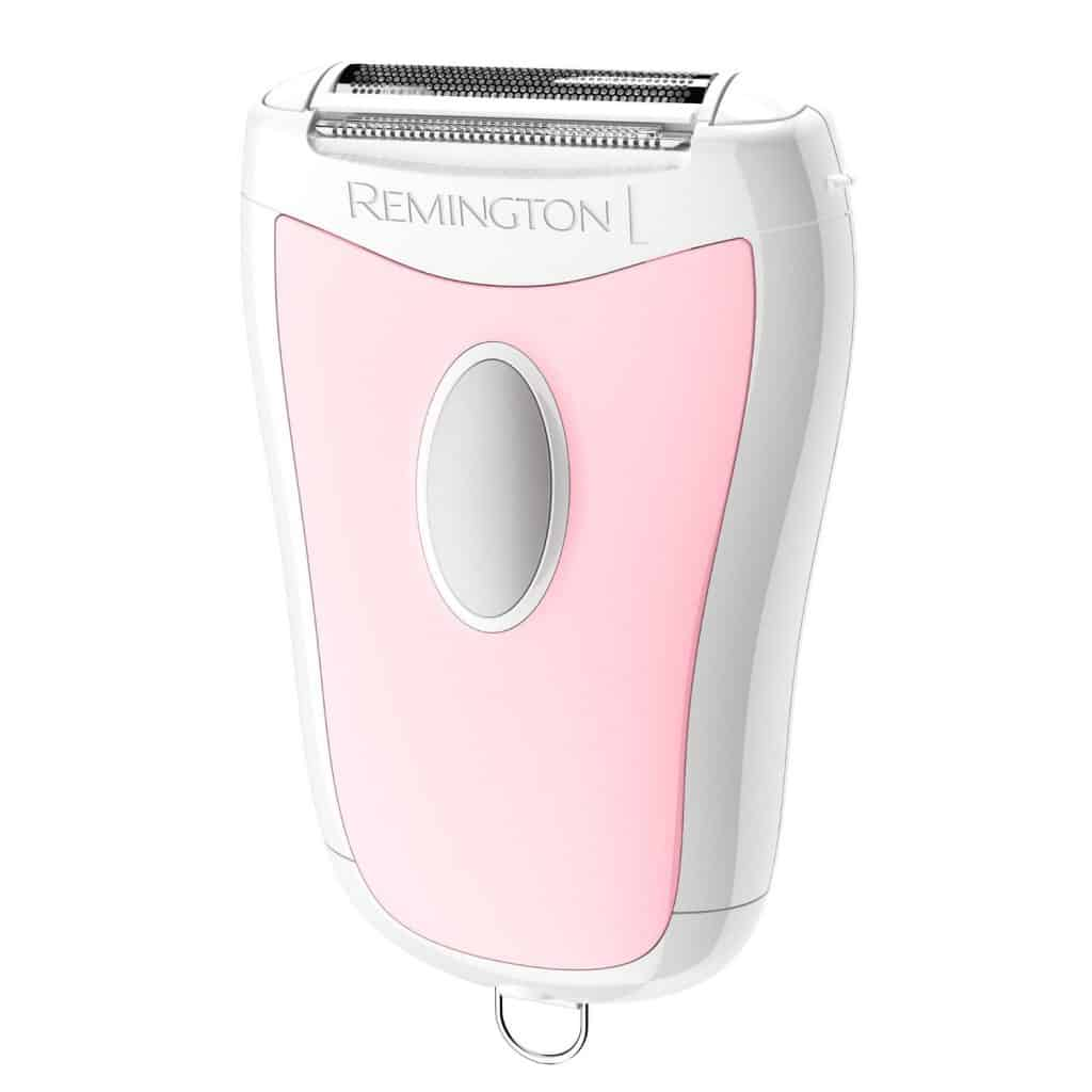 An electric shaver for women that is compact for travel