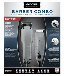 Barber kit with an adjustable blade clipper