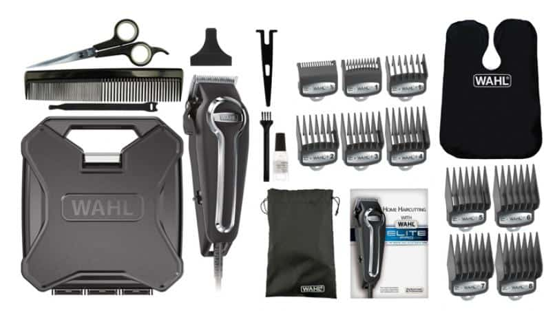 Ideal kit for cutting and clipping hair