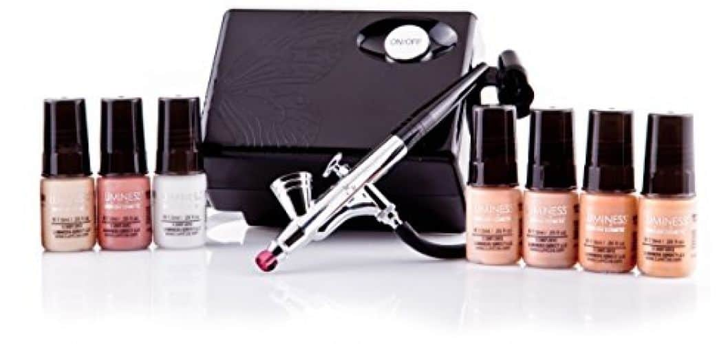 One of the best makeup airbrush kits, Luminess offers a 7-piece set