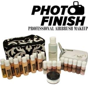 Professional or beginner airbrush makeup kit