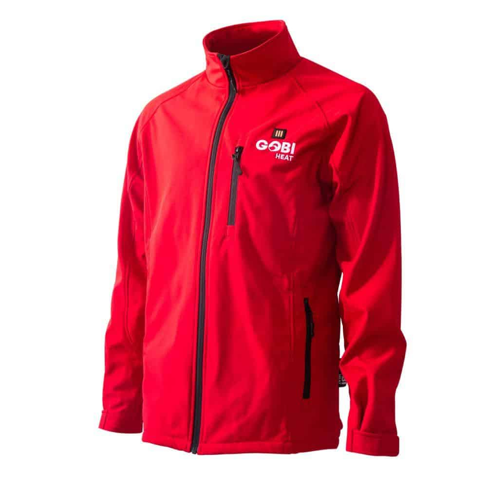 The image shows the Dragon Heatwear Sahara Coat in red