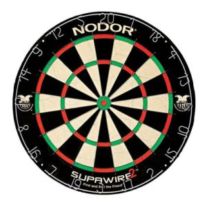 Nodor Supawires 2 Bristle Dart Board