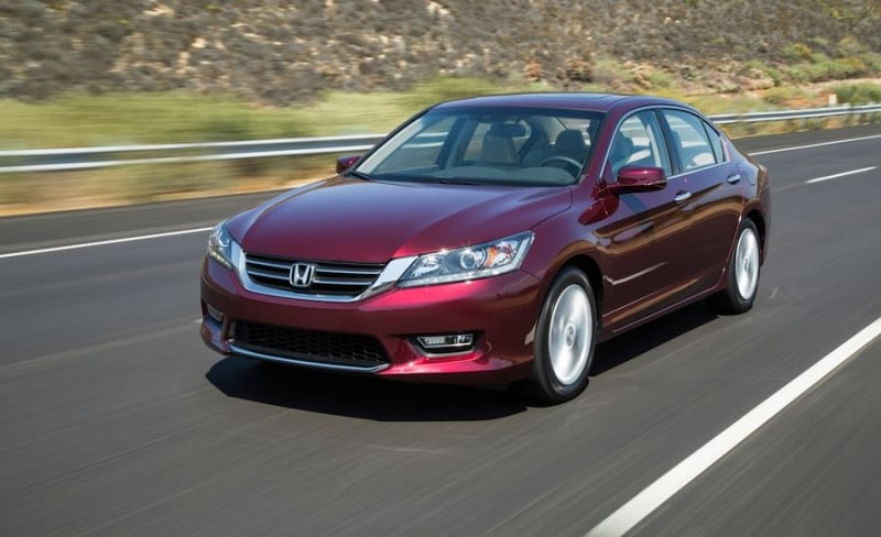2013 Honda Accord In Motion