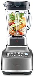 The Breville Super Q with vegetables inside